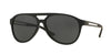 Versace VE4312 Pilot Sunglasses  514187-BLACK RUBBER 60-15-145 - Color Map black