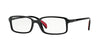 Vogue VO2893 Rectangle Eyeglasses  W44-BLACK 53-16-145 - Color Map black