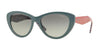 Vogue VO2990S Cat Eye Sunglasses  234111-GREY 54-17-140 - Color Map grey