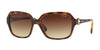 Vogue VO2994SB Square Sunglasses  W65613-DARK HAVANA 57-18-130 - Color Map havana