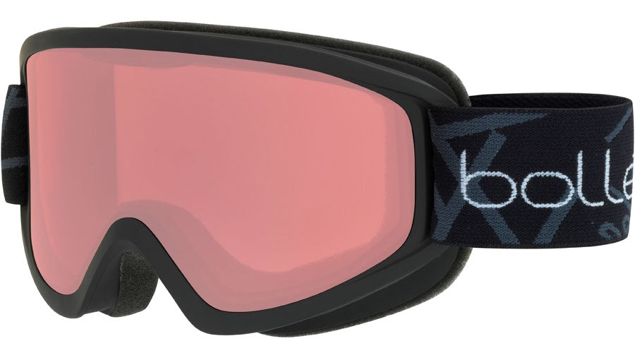 BOLLE FREEZE GOGGLES  MATTE  BLACK VERMILLON One Size