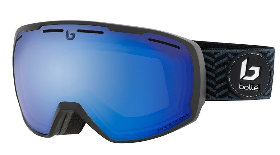 BOLLE LAIKA GOGGLES   MATTE BLACK WAVES PHANTOM+ One Size