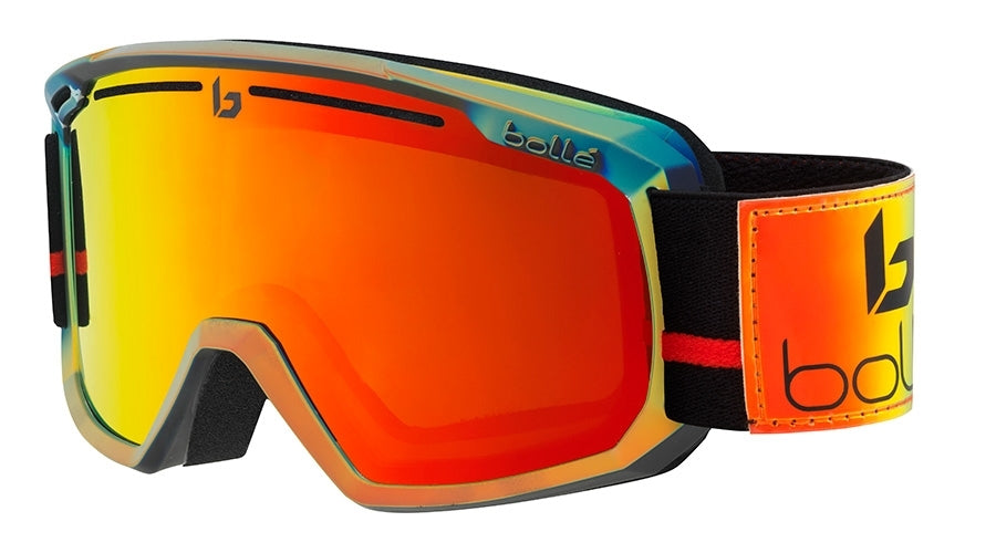 BOLLE MADDOX GOGGLES   SHINY GOLD POLYCHROME SUNRISE One Size