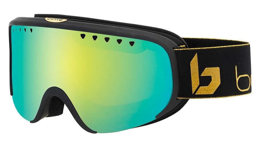 BOLLE SCARLETT GOGGLES  MATTE BLACK CORP SUNSHINE One Size
