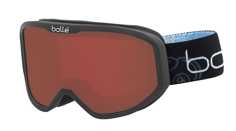 BOLLE INUK GOGGLES  MATTE BLACK BOMB ROSY BRONZE One Size