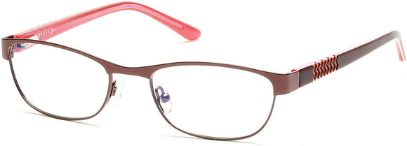 Bongo BG0160 Eyeglasses 048-048 - Shiny Dark Brown