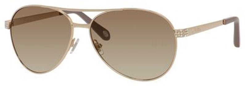 FOSSIL Fos 3051/S Sunglasses 03YG-LIGHT GOLD CC Polycarbonate