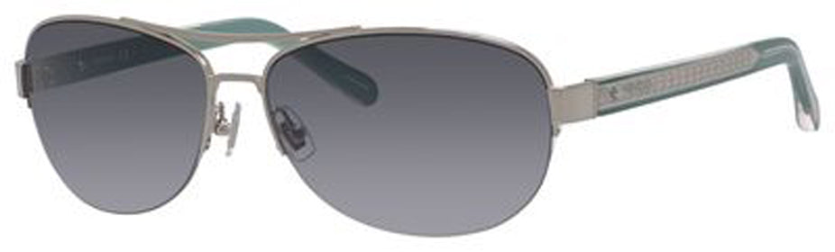 FOSSIL Fos 3052/S Sunglasses 06LB-SHINY SILVER F8 Polycarbonate