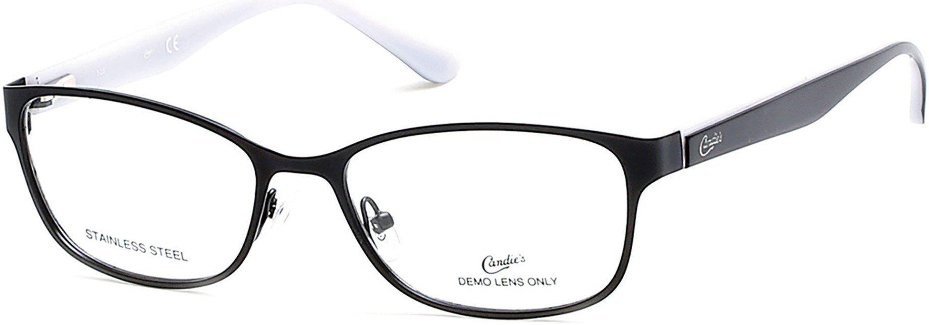 Candies CA0135 Geometric Eyeglasses 005-005 - Black/other