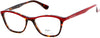Candies Geometric CA0137 Eyeglasses 068-068 - Red/other