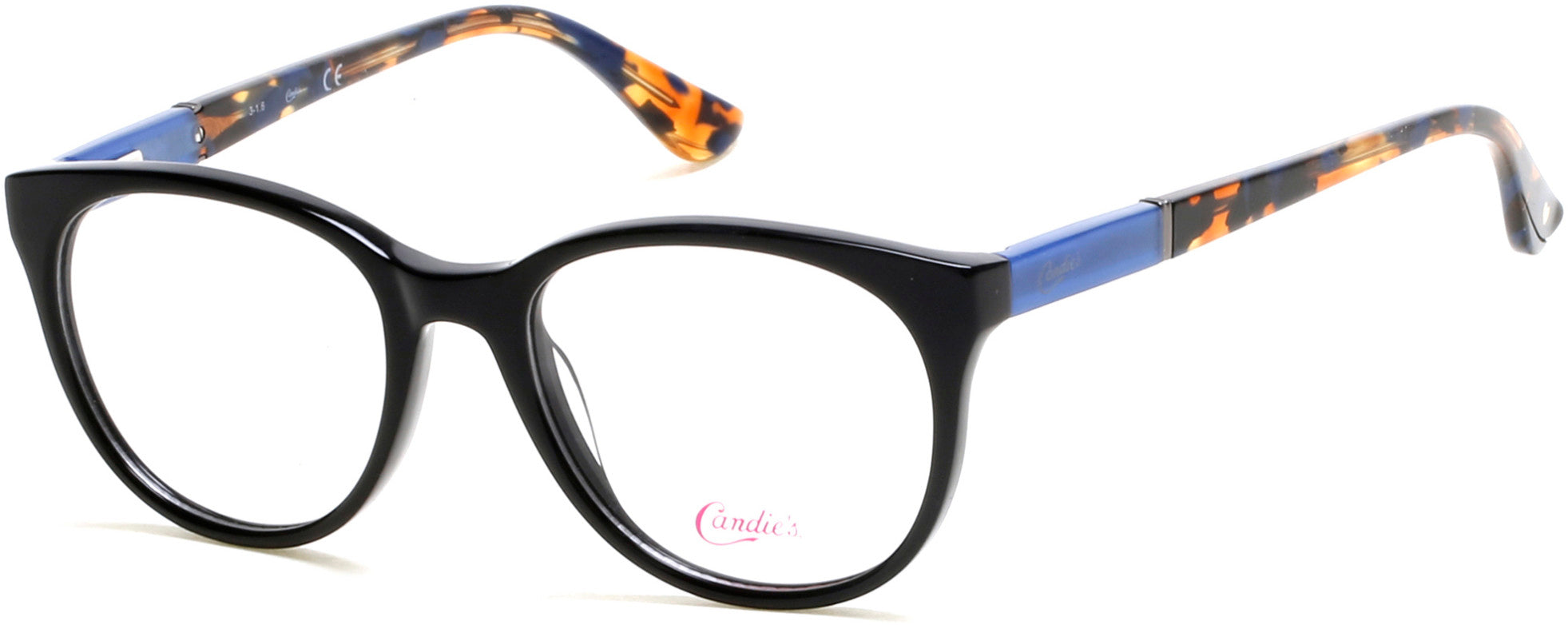 Candies CA0138 Geometric Eyeglasses 005-005 - Black/other