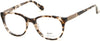 Candies CA0138 Geometric Eyeglasses 047-047 - Light Brown/other