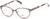 Candies CA0139 Geometric Eyeglasses 047-047 - Light Brown/other