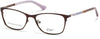 Candies CA0141 Eyeglasses 049-049 - Matte Dark Brown