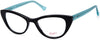 Candies CA0178 Cat Eyeglasses 001-001 - Shiny Black