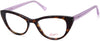 Candies CA0178 Cat Eyeglasses 052-052 - Dark Havana