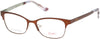 Candies CA0506 Eyeglasses 049-049 - Matte Dark Brown