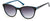 Candies CA1024 Round Sunglasses 05B-05B - Black / Gradient Smoke