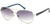 Candies CA1025 Pilot Sunglasses 10B-10B - Shiny Light Nickeltin / Gradient Smoke