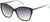 Candies CA1026 Square Sunglasses 05B-05B - Black / Gradient Smoke