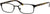 Adensco AD 100 Rectangular Eyeglasses 0003-0003  Matte Black (00 Demo Lens)