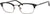 Adensco AD 102 Pillow Eyeglasses 0FS3-0FS3  Black (00 Demo Lens)