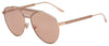 Jimmy Choo Ave/S Aviator Sunglasses 0BKU-0BKU  Redgdndwh (2S Pink Flash Silver)