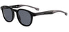 Boss (hub) Boss 1052/S Rectangular Sunglasses 0807-0807  Black (IR Gray Blue)