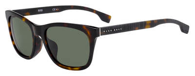 BOSS (HUB) Boss 1061/F/S Square Sunglasses 0086-Dark Havana