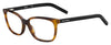 BOSS ORANGE Bo 0257 Rectangular Eyeglasses 05FC-DKHVN BK