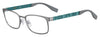 BOSS ORANGE Bo 0287 Rectangular Eyeglasses 0R80-SMTDKRUTH