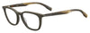 BOSS ORANGE Bo 0302 Rectangular Eyeglasses 0BU0-BRW HRWAL