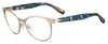 BOSS ORANGE Bo 0312 Oval Modified Eyeglasses 0AOZ-SMTT GOLD