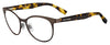 BOSS ORANGE Bo 0312 Oval Modified Eyeglasses 0HGC-BRWN HVNA