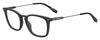 BOSS ORANGE Bo 0327 Rectangular Eyeglasses 3-MTT BLACK