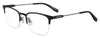 BOSS ORANGE Bo 0335 Rectangular Eyeglasses 3-MTT BLACK