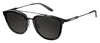 Carrera 127/S Square Sunglasses 0GVB-Shiny Black Matte Black