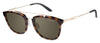 Carrera 127/S Square Sunglasses 0SCT-Havana Gold