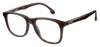 Carrera 135/V Rectangular Eyeglasses 0086-Havana