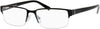 Claiborne CB 220 Rectangular Eyeglasses 0LF1-0LF1  Black Gray (00 Demo Lens)
