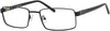 Claiborne CB 234XL Rectangular Eyeglasses 0003-0003  Black (00 Demo Lens)