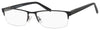 Chesterfield Chesterfield 45 XL Rectangular Eyeglasses 0JVW-0JVW  Black (00 Demo Lens)