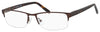 Chesterfield Chesterfield 45 XL Rectangular Eyeglasses 0JWU-0JWU  Dark Brown (00 Demo Lens)