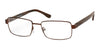 Chesterfield Chesterfield 59XL Rectangular Eyeglasses 04IN-04IN  Matte Brown (00 Demo Lens)