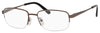 Chesterfield Chesterfield 869/T Rectangular Eyeglasses 0EX1-0EX1  Gunmetal (00 Demo Lens)