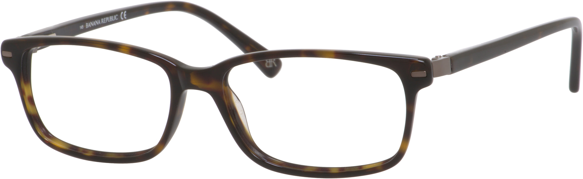 Banana Republic Duncan Rectangular Sunglasses 0086-0086  Tortoise (00 Demo Lens)