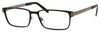 Elasta Elasta 3110 Rectangular Eyeglasses 0TI7-0TI7  Ruthenium Matte Black (00 Demo Lens)