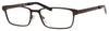 Elasta Elasta 3110 Rectangular Eyeglasses 0YZ4-0YZ4  Matte Brown (00 Demo Lens)