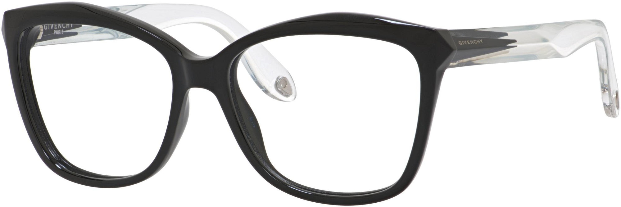 Givenchy GV 0008 Cat Eye/Butterfly Eyeglasses 0AM3-0AM3  Black Crystal (00 Demo Lens)