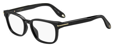 GIVENCHY Gv 0013 Rectangular Eyeglasses 807-BLACK